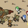 castle crashers vs. barbarians by DanPaladin