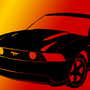 Mustang shadow by GunColector666