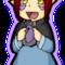 Amraki and her poe