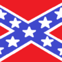 Confederate flag MS Paint by Clock-Ninja