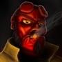 Hellboy by deafguitarist063