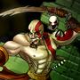 Five nights of fighting Kratos. by Kayas-Kosmos