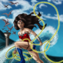 New 52 Wonder Woman 118 Cover Painted by eMokid64