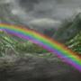 Rainbow Butterflies by MaxRH