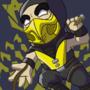 Scorpion (Mortal Kombat) by EmuToons