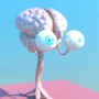 Brain Boss Idle and Attack Animations