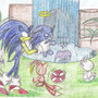 Sonic Chao Garden by NGKFlower