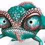 Hank the Chameleon by Bojeva