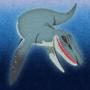 Liopleurodon by rilyrobo