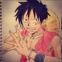 Luffy (One Piece) by Vespar