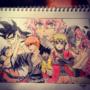 Anime Collage by Vespar