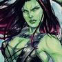Gamora in watercolors :) by bella-art