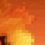 Pixel Tree by radshoe