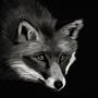 Fox Painting by Platanoz