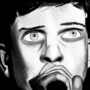 Ian Curtis by EddieNiga