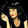 Mia Wallace by EddieNiga