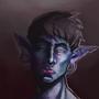 Blue Elf by Orrslaw