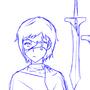 Bored Sketch: Swords by GrumpySheep
