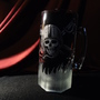 Glass etching on a beer mug by cocolongo
