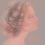 Girl in profile by SaraVinhal