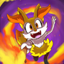 Braixen by Ztoons