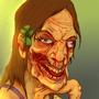 Pretty Female Zombie by GGTFIM