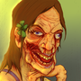 Pretty Female Zombie