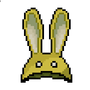 Bunny Hood Pixel Art by morganstedmanmsNG