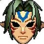 Fierce Deity Mask Pixel Art by morganstedmanmsNG