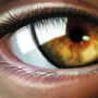 Eye from up close