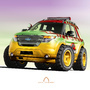 2015 Ford Explorer - Jurassic Park by BreadX