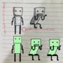 Pixel of Sad Children