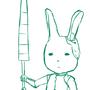 Bunny Knight by GrumpySheep