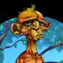 Depressed Monkey (T-Shirt design) by Kkylimos