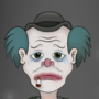 Sad Clown in Space! by SenilChris