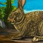 The Rabbit by MojoRising