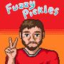 Fuzzy Pickles Pixel Portrait by GamekrazzyProduction