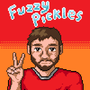 Fuzzy Pickles Pixel Portrait