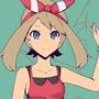 W.I.P Pokemon May And Mega Tyranitar by GrumpySheep