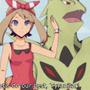 Pokemon May And Tyranitar Scene by GrumpySheep