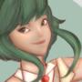 Vocaloid Gumi by BlackShiya