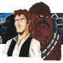 Han and Chewie by daviddino95
