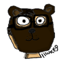 Me in a bear mask by lilluke9