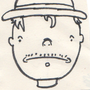 Sad guy sketch by Ombey