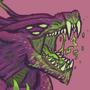 Acrid`s roar! by TigronKosh