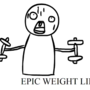 EPIC WEIGHT LIFTING GIF by YourbrandnewPC