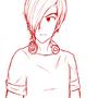 Male Character Sketch by GrumpySheep