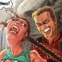 Larson raping Lara by StudioPirrate