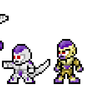 Frieza's Forms Pixel Art by morganstedmanmsNG