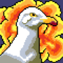 Flaming Seagull of Righteousness - by Koburg